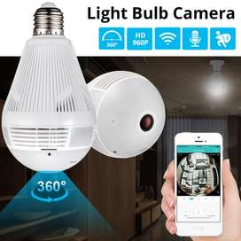 WiFi Bulb Live Full HD Video Recording Spy Camera With Night Vision