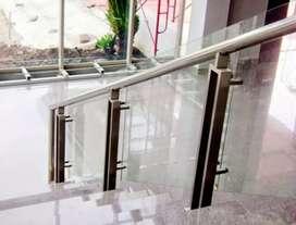 Dimas stel @6027 balkon stainlis kaca sepex elegan bandung juarah