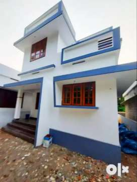 New build 3.7 cent 1200 sqft 3 bhk house at Kongorpilly near chirayam
