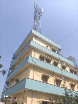 4 floors Building with 3 sides road, for sale Rental income 70,000