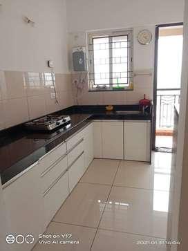 2BHK Semi Furnished  Flat For Sale in Kharadi, 83.5 lac, area 1080sqft