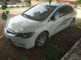 Honda Civic 2007 Petrol Well Maintained and a sporty look