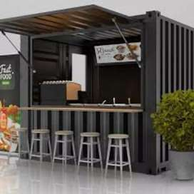 Container booth untuk usaha anda / Promo harga (baca deskripsi)