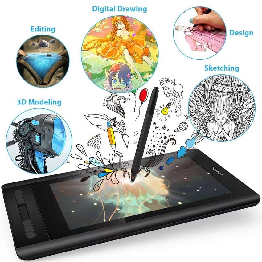 XP-Pen Artist 12 11.6'' Graphics Tablet Drawing Graphic Monitor Animat 0
