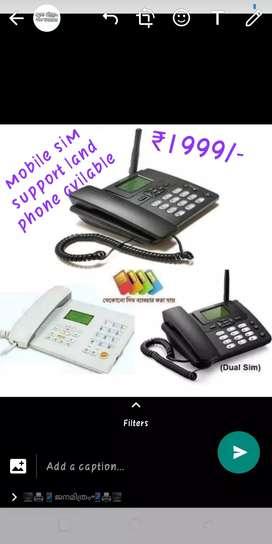 Sim type landphone