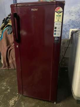 Haeir 190 litres maroon colour Fridge