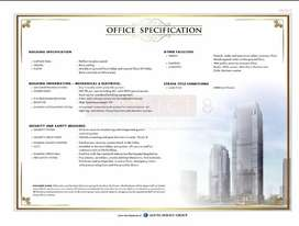 Dijual Cepat Office District 8 Treasury Tower