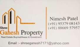 Flat For Rent 3 BHK Semi Furnished Ananad Nagar Road Satellite