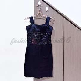 preloved black tank top dress