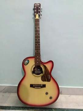 GIVSON GUITAR  with new strings and belt