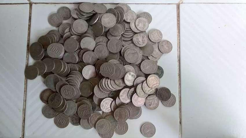 Uang koin 100 kuno 0