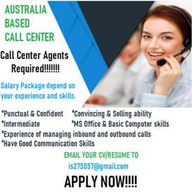 Call center agents for outbound calls required