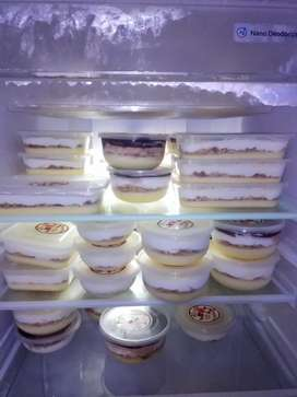 Puding Regal Coklat & Keju