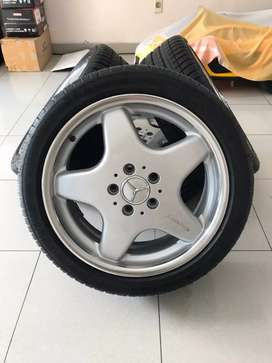 Velg Mercedes Benz A Class AMG Ring 17 Made In Germany + Ban Michelin