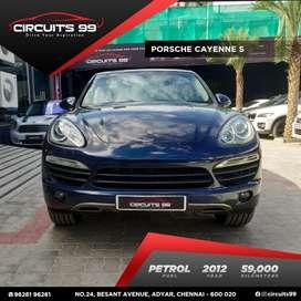 Porsche Cayenne S, 2012, Petrol