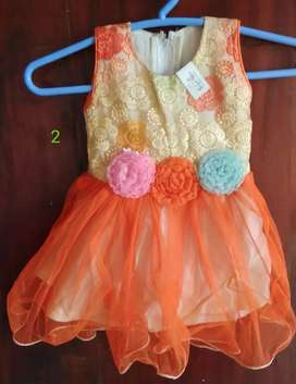FROCKS  for 1 year old , give aways