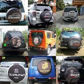 Cover/Sarung Ban Serep Mobil Sidekick/Daihatsu Terios/Rush/Vitara#Geno