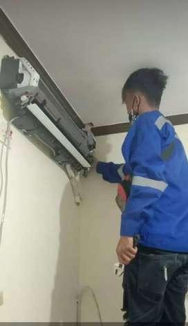 Serpis AC,kulkas,mesin cuci.dan bongkar pasang AC.
