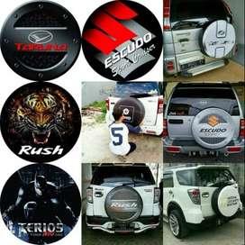 Cover/Sarung Ban Ford Ecosport/Rush/Terios/Taft Pasti gading escudo ga