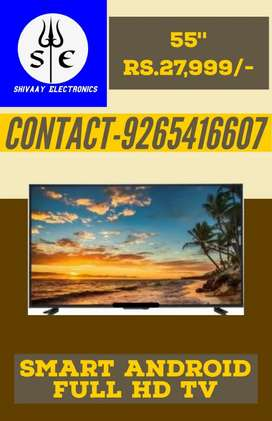 55 inch smart andriod 4k O.G with voice remote