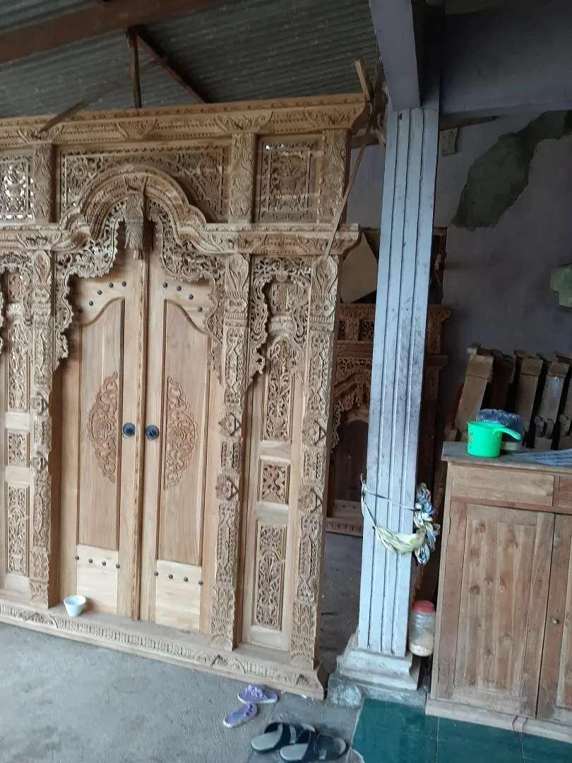 cuci gudang pintu gebyok gapuro jendela rumah masjid musholla riki