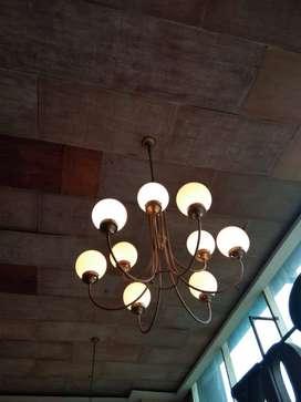 Lampu Chandelier unik mulus