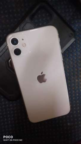 Iphone 11 In brand new condition with box charger and headset