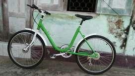 Sepeda Letter U Phoenix ukuran 24 Modifikasi