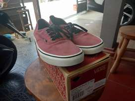 (BU) Vans Authentic Port Roy | Warna Port Royale/Black (Maroon)