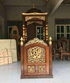 mimbar masjid kubah terbaru jati 365677