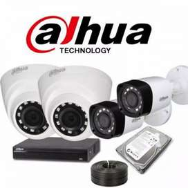 CCTV Security solution installed