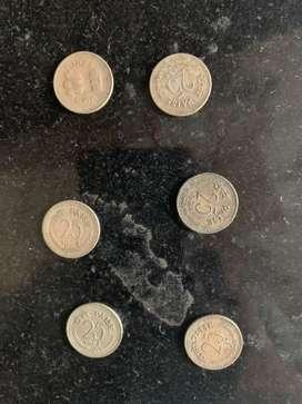 Vintange coins
