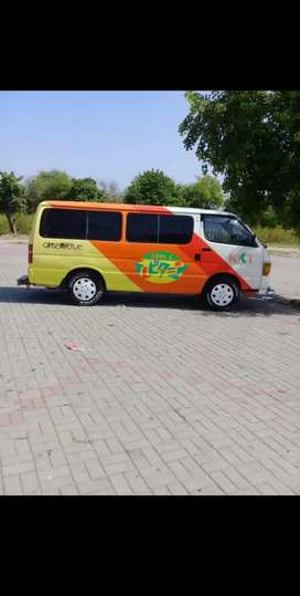 Toyota Hiace 1997 model 11 qouta available for sale