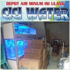 perakitan depot Air damiu galon 3+1 = 10Jt