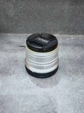 Lensa 7artisans 25mm f1.8 for sony