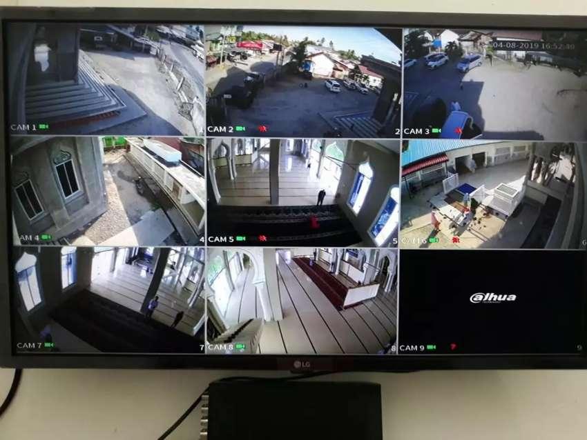 Pasang CCTV kamera tipe 1080 p full HD 0