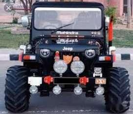 Mahindra modified jeep
