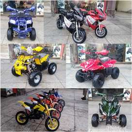 All models and size Atv Quad 2 & 4 wheel Bikes for sell Subhan shop