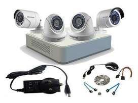 4HD CCTV Camera setup installation