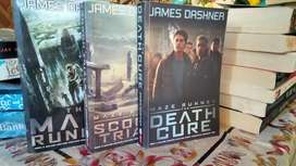 Maze Runner Trilogy Movie edition cover