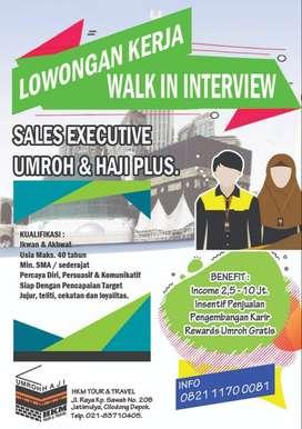 Sales Executive Umroh Dan Haji [Depok-Bogor]