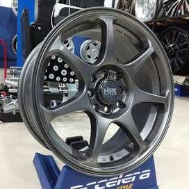 Pelek Mobil Ring 16 Racing HSR SEBUNSUTA R16x7 Pcd 8x100-114,3  ET42