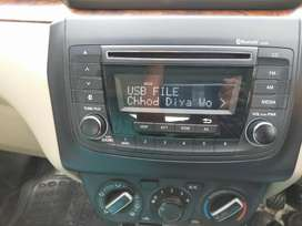 New dzire music system Bluetooth