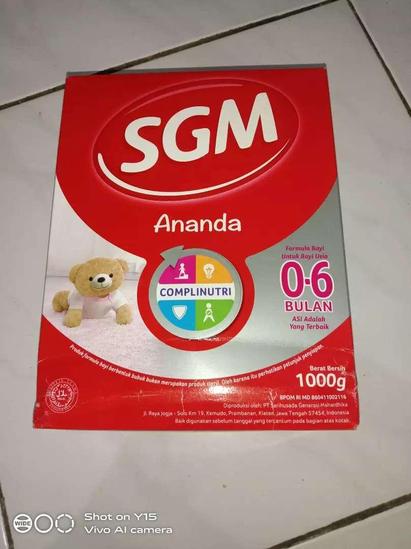 Susu SGM ananda 0-6 bulan 0