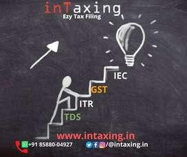Income Tax Return Efiling ₹499 GST return for ₹499, Import Export Code