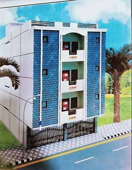 H.H Residency Brand New Flat For Sale On Booking 900sqft
