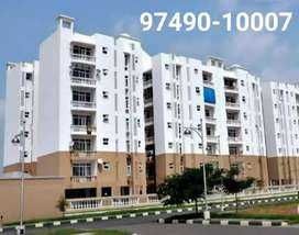 3 BHK apartment Flats, newly built up, 3 attached bathrooms