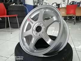 velg racing hsr tl ms ring 17x75 pcd 8x100-114