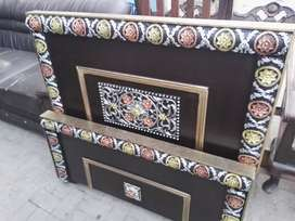 Lamination Wooden Single Bed Without Mattress