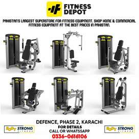 BODY STRONG BRAND COMMERCIAL GYM AND FITNESS MACHINE IMPORTED